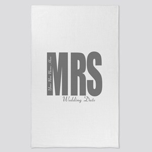 Wedding Mrs Tea Towel