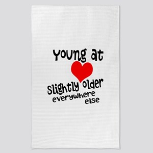 Young at Heart Tea Towel