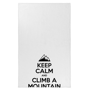 Mountain Climbing Tea Towels Cafepress