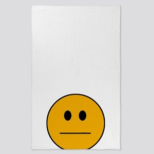 Deadpan Smilie Tea Towel