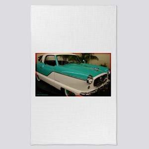 Claasic car, photo! Tea Towel
