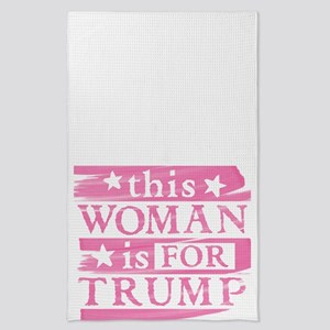 Woman for TRUMP Tea Towel
