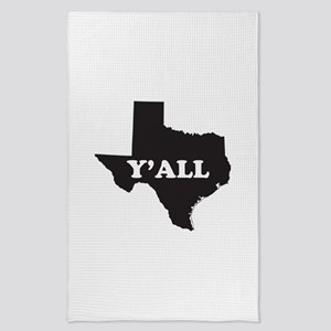 Texas Yall Tea Towel