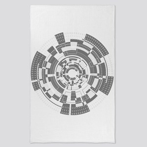 Bits and Bytes Tea Towel