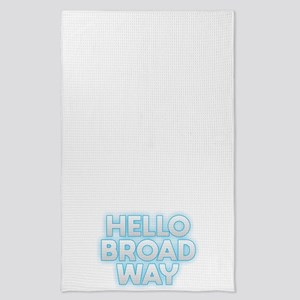 Hello Broadway Tea Towel
