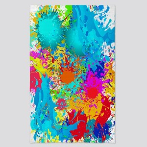 Colorful Vertical Burst Tea Towel