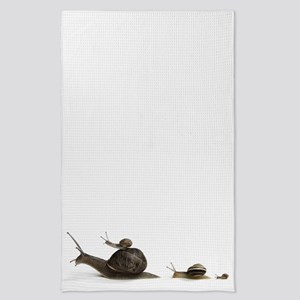 snail family Tea Towel