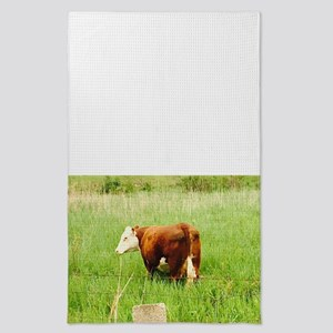 Grazing Cow 4Lilly Tea Towel