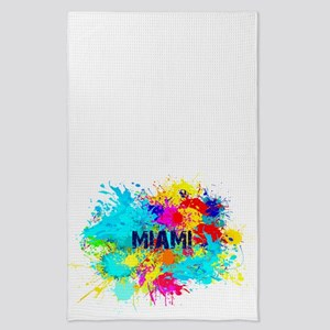 MIAMI BURST Tea Towel