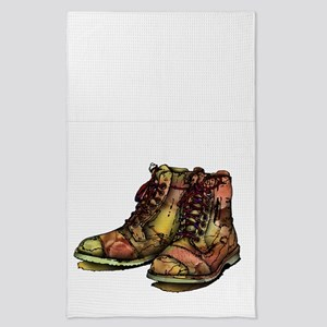 BOOTS! Tea Towel