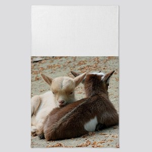 Goat 001 Tea Towel