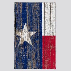 barn wood Texas Flag Tea Towel