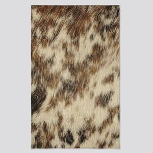 bohemian southwestern tribal cowhide Tea Towel