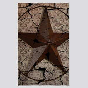 rustic texas lone star Tea Towel