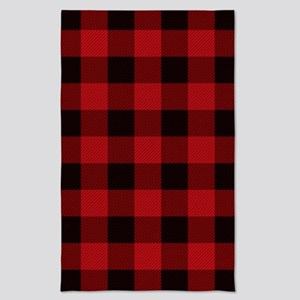 Lumberjack Cottage Buffalo Plaid Tea Towel