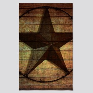 barn wood texas star Tea Towel