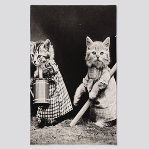 Kittens At Work Photography Tea Towel
