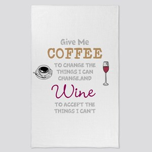 Coffee and Wine Tea Towel