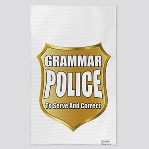Grammar Police To Serve And Correct Tea Towel