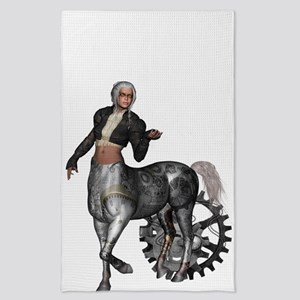 Awesome steampunk centaur Tea Towel