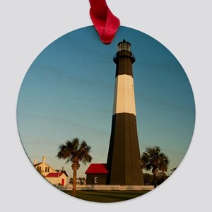 Tybee(3) 3x3.png Maple Round Ornament