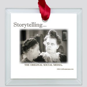 Storytelling...The Original Social Media Square Gl