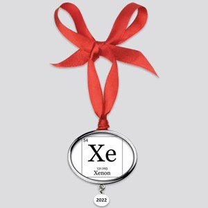 Elements - 54 Xenon Oval Year Ornament
