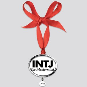 INTJ | The Mastermind Oval Year Ornament