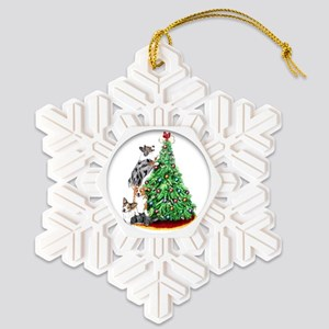reachcorgi Snowflake Ornament