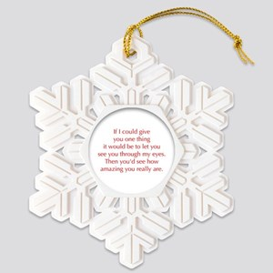 if-I-could-give-you-one-thing-opt-red Snowflake Or