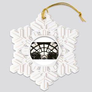 B-29 Cockpit Snowflake Ornament
