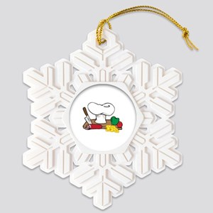CHEFS TABLE Snowflake Ornament
