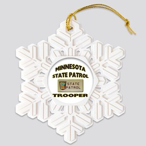 minnspplate Snowflake Ornament