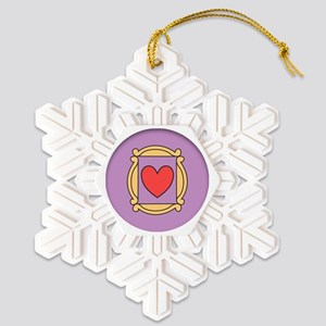 Friends TV Show Snowflake Ornament