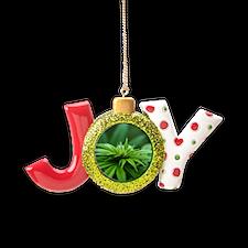 Marijuana Joy Ornament