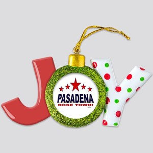 Pasadena Rose Town Joy Ornament