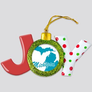 3-michigan Joy Ornament