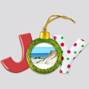 Orcracoke Island Beach Joy Ornament