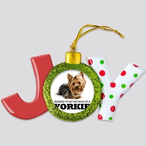 Blessed YORKIE MOM Joy Ornament