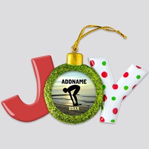 AWESOME SWIMMER Joy Ornament
