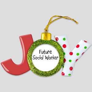 Social-Worker78 Joy Ornament