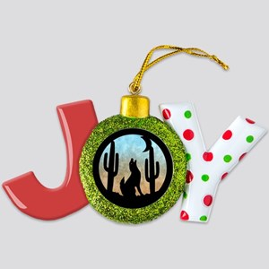 Coyote Moon Joy Ornament
