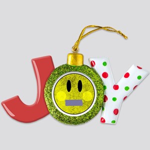 Smiley Face Duct Tape Joy Ornament