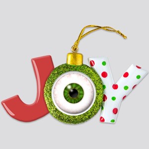 eyeball_greeneye Joy Ornament