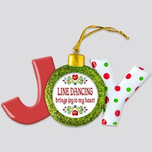Line Dancing Joy Joy Ornament
