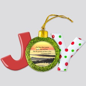 1 CORINTHIANS 13 Joy Ornament