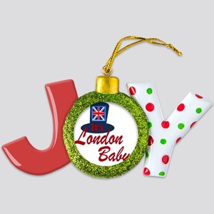 It's London Baby Friends TV  Joy Ornament