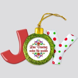 Line Dancing Lover Joy Ornament