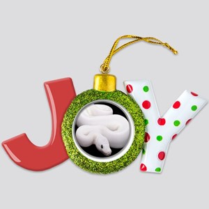 yule snake2 Joy Ornament