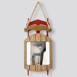 Smoke alarm Sled Ornament